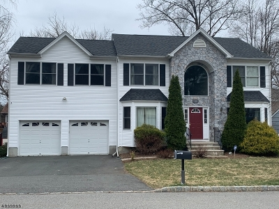 Parsippany-Troy Hills Twp. Single Family Home For Sale: 33 Stirling Rd