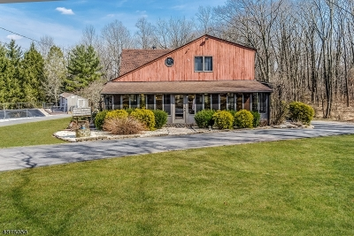 Hunterdon County Single Family Home For Sale: 12 Perryville Rd