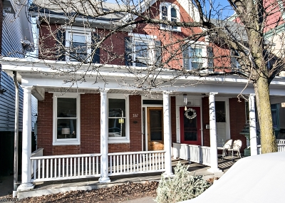 Hunterdon County Single Family Home For Sale: 187 N Union St
