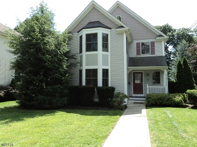 Morris Plains Boro Single Family Home For Sale: 18 Maple Avenue