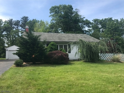 Bridgewater Twp. Single Family Home For Sale: 526 Vanderveer Rd.