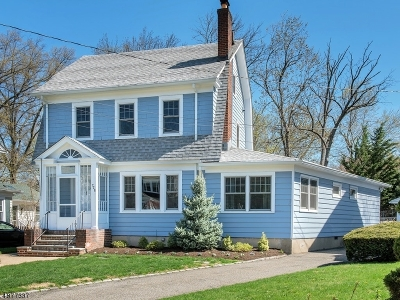 Maplewood Twp. Single Family Home For Sale: 728 Prospect St