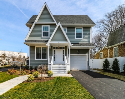 Westfield Town NJ Single Family Home For Sale: $724,999