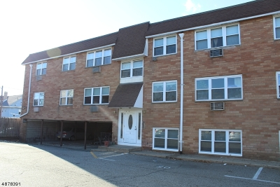 Passaic City Condo/Townhouse For Sale: 11 Ascension St #1B