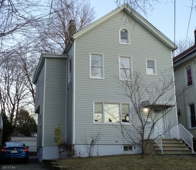Passaic City Single Family Home For Sale: 87 Lincoln St