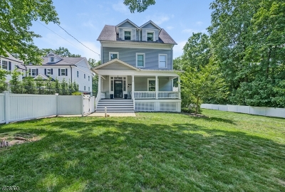 Summit Single Family Home For Sale: 690 Springfield Ave