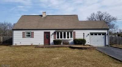 Hillsborough Twp. NJ Single Family Home For Sale: $339,000