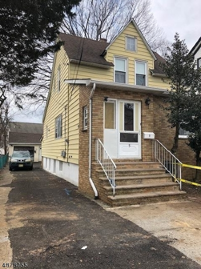 Clifton City Single Family Home For Sale: 5 Orange Ave
