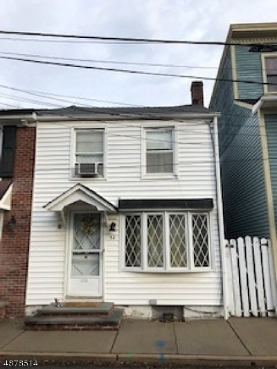 Hunterdon County Single Family Home For Sale: 54 Delevan St