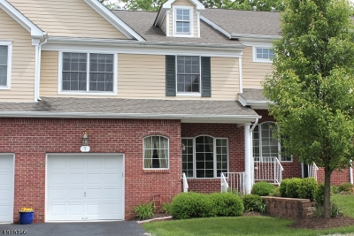 Sparta Twp. Condo/Townhouse For Sale: 7 Abigail Way