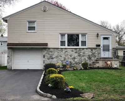 Cranford Twp. Single Family Home For Sale: 412 Cranford Ave