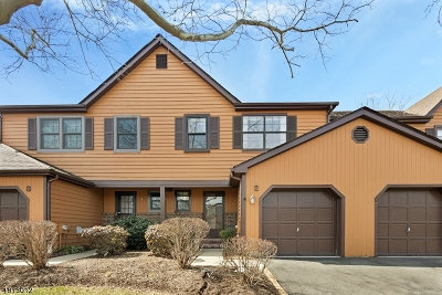 Hillsborough Twp. Condo/Townhouse For Sale: 2 Manor Dr