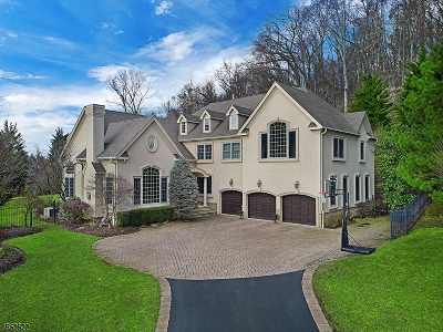 Bridgewater Twp. NJ Single Family Home For Sale: $1,200,000