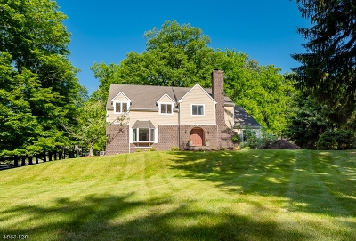 Mendham Boro, Mendham Twp. Single Family Home For Sale: 2 Harmony Ln