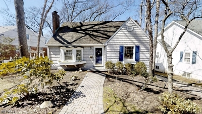 West Caldwell Twp. Single Family Home For Sale: 87 Westover Ave