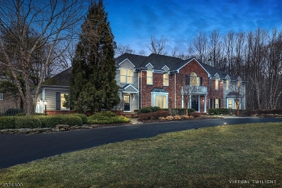 Mendham Twp. NJ Single Family Home For Sale: $1,324,900