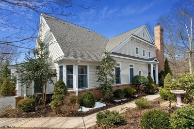 Far Hills Boro NJ Condo/Townhouse For Sale: $889,900
