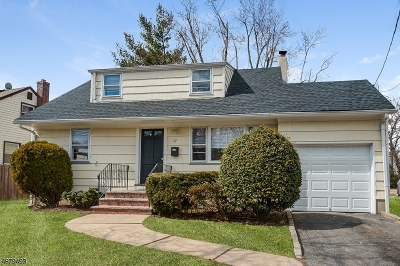 Summit Single Family Home For Sale: 57 Springfield Ave