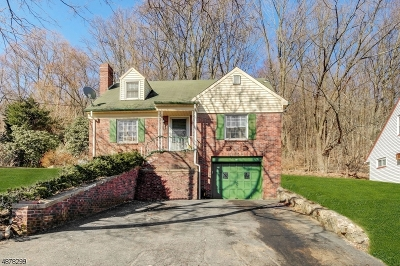 North Haledon Boro Single Family Home For Sale: 95 Hillside Dr