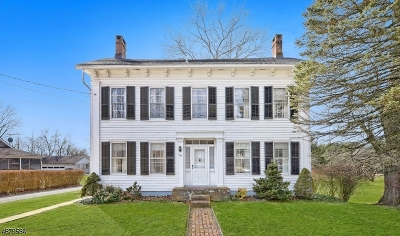 Franklin Twp. Single Family Home For Sale: 422 Old Main Street