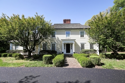 Basking Ridge Single Family Home For Sale: 410 Mountain Rd