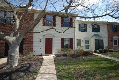 Bernards Twp. Condo/Townhouse For Sale: 91 Baldwin Ct