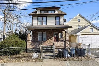 Passaic City Single Family Home For Sale: 115 Albion St