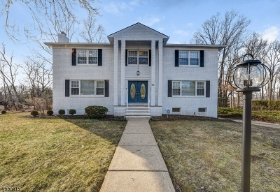 West Orange Twp. Single Family Home For Sale: 33 Ralph Rd