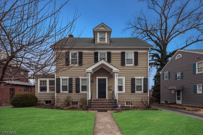 Morristown Town, Morris Twp. Single Family Home For Sale: 10 Green Hill Rd