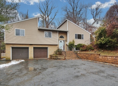 West Orange Twp. NJ Single Family Home For Sale: $475,000