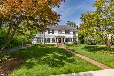 Bernards Twp., Bernardsville Boro Single Family Home For Sale: 47 Rankin Ave