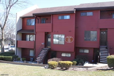 Nutley Twp. NJ Condo/Townhouse For Sale: $241,900