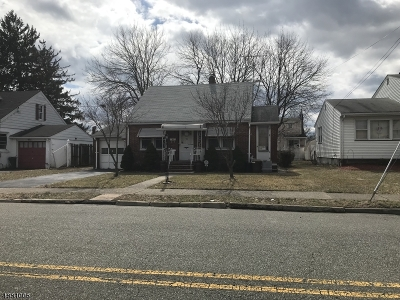 Paterson City Single Family Home For Sale: 99-101 Emerson Ave