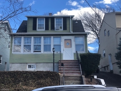 Passaic City Single Family Home For Sale: 11 Gourley St