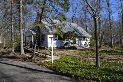Somerset County Single Family Home For Sale: 92 Old Stirling Rd