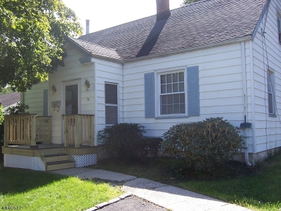 West Orange Twp. NJ Single Family Home For Sale: $325,000