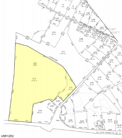 Millstone Twp. Residential Lots & Land For Sale: 530 State Hwy 33