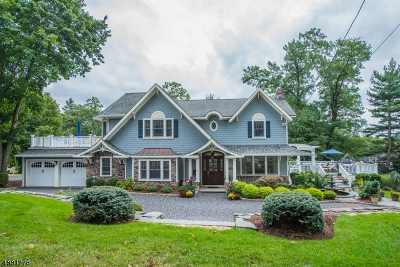 Mountain Lakes Boro Single Family Home For Sale: 28 Hillcrest Rd