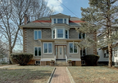 Passaic City Single Family Home For Sale: 300 High St