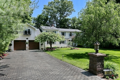 Franklin Lakes Boro Single Family Home For Sale: 591 Spruce Ln