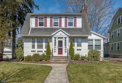 Maplewood Twp. Single Family Home For Sale: 85 Oakland Rd