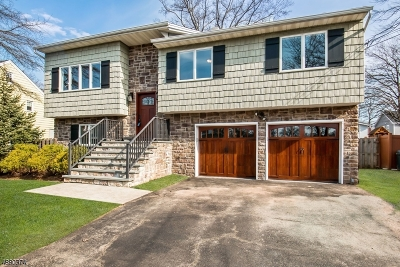 Cranford Twp. Single Family Home For Sale: 163 Hillcrest Ave