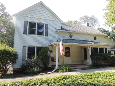 Randolph Twp. Single Family Home For Sale: 131 Combs Hollow Rd