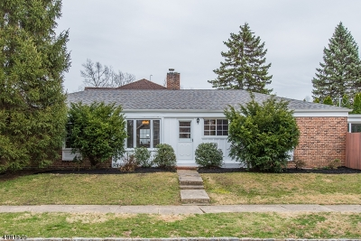 Westfield Town NJ Single Family Home For Sale: $499,900