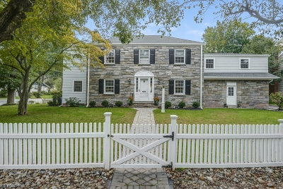 Chatham Boro Single Family Home For Sale: 1 Meadowbrook Road