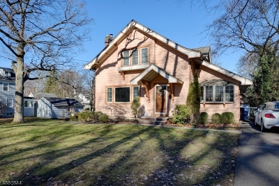 Fanwood Boro Single Family Home For Sale: 28 Hunter Ave