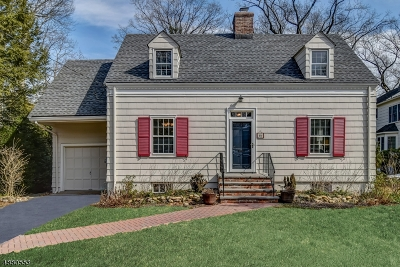 Chatham Boro Single Family Home For Sale: 15 Somerset Ave
