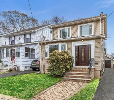 Maplewood Twp. Single Family Home For Sale: 182 Jacoby St