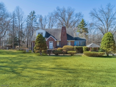 Franklin Lakes Boro Single Family Home For Sale: 570 Franklin Lake Rd