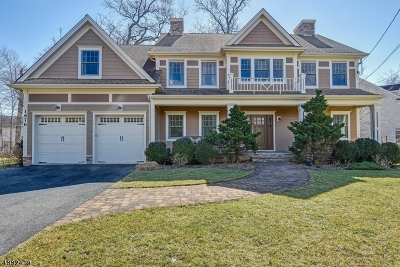 Scotch Plains Twp. Single Family Home For Sale: 1676 Cooper Rd